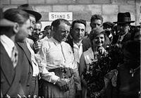 Philippe Étancelin (center) 1933