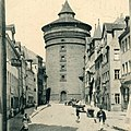 Photo - Nürnberg - Neutorturm - um 1910.jpg