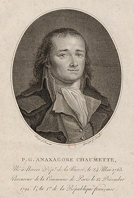 Pierre Gaspard Chaumette 18th-century French politician