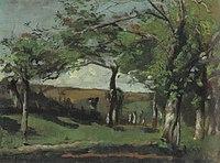 Piet Mondriaan - Glooiend landschap met bomen - A44 - Piet Mondrian, catalogue raisonné.jpg
