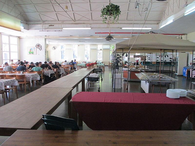 חדר האוכל בקיבוץ דליה