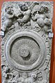 Pilaster showing a chakra in the Indian Museum, Kolkata 02.jpg