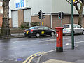 Pillar box, corner of Grove Road - geograph.org.uk - 1231648.jpg