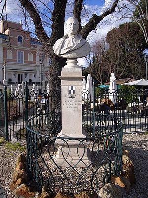 Angelo Secchi - bust by Giuseppe Prinzi at Pincio, Rome