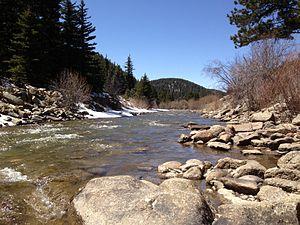 Pinecliffe, Colorado - Image: Pinecliffe, CO3