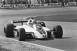 Nelson Piquet - Piquet driving for Brabham at the 1980 Dutch Grand Prix