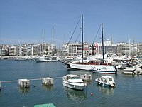 View of Piraeus Harbour