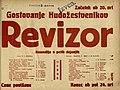 Plakat za predstavo Revizor v Narodnem gledališču v Mariboru 2. marca 1931.jpg