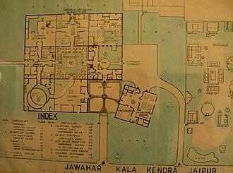 Jawahar Kala Kendra - Image: Plan, Jawahar Kala Kendra, Jaipur, Rajasthan