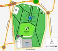 Plan - Parc floral des Thermes (Aix-les-Bains) - 2016.png