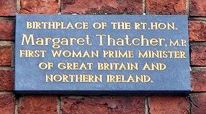 English: Commemorative plaque, The house where...