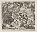 Plate 13-Jupiter and Callisto (Calisto a Iove comprimitur), from Ovid's 'Metamorphoses' MET DP864242.jpg