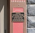 Plattsmouth, Nebraska 436 Main Street plaque.JPG