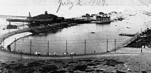 Playa del Rey, Los Angeles - Beach and Lagoon, 1907