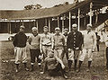 Players at Boston Red Sox Spring Training in Little Rock Arkansas.jpg