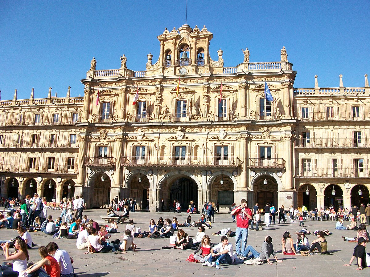 Plaza Mayor, Salamanca - Wikipedia