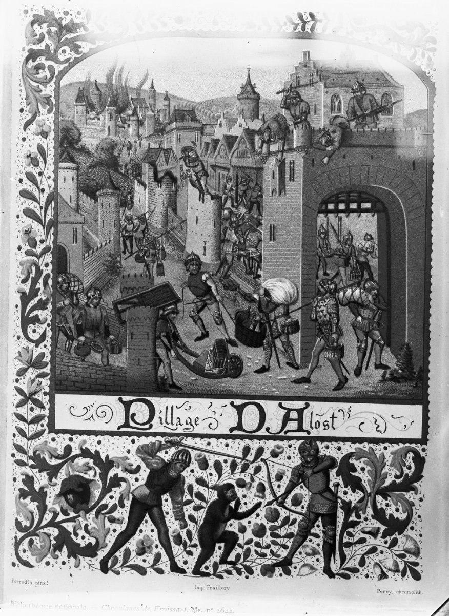 Plundering van Aalst, fantasie voorstelling - Aalst - 20318282 - RCE