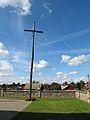 Podlaskie - Wyszki - Topczewo - Kościół św. Stanisława 20110903 - Krzyż 01.JPG