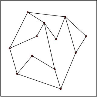 Planar straight-line graph