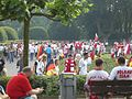 Polish and German football (soccer) fans - FIFA World Cup 2006.jpg