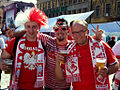 Polish fans, Wrocław - Euro 2012.jpg