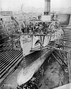 Torpedo ram - The torpedo ram HMS ''Polyphemus''