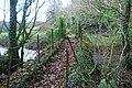Pont Droed dros Afon Dwyfach - Footbridge over Afon Dwyfach - geograph.org.uk - 631713.jpg