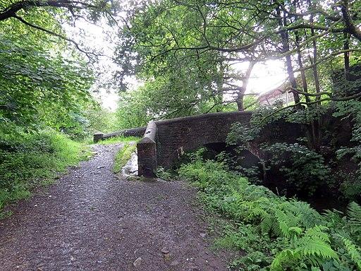 Pont dros gamlas - Bridge spanning a canal (geograph 6891326)