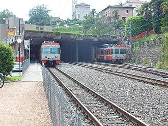 Ponte Tresa railway station - Ponte Tresa railway station