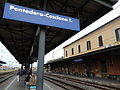 Pontedera-Casciana Terme train station September 2012.JPG
