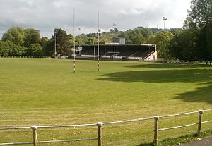 Pontypool Park - Pontypool Park Rugby Ground, home of Pontypool RFC