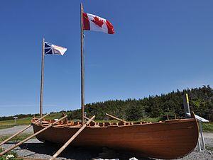 Chalupa (boat) - Chalupa at Port au Choix, Newfoundland