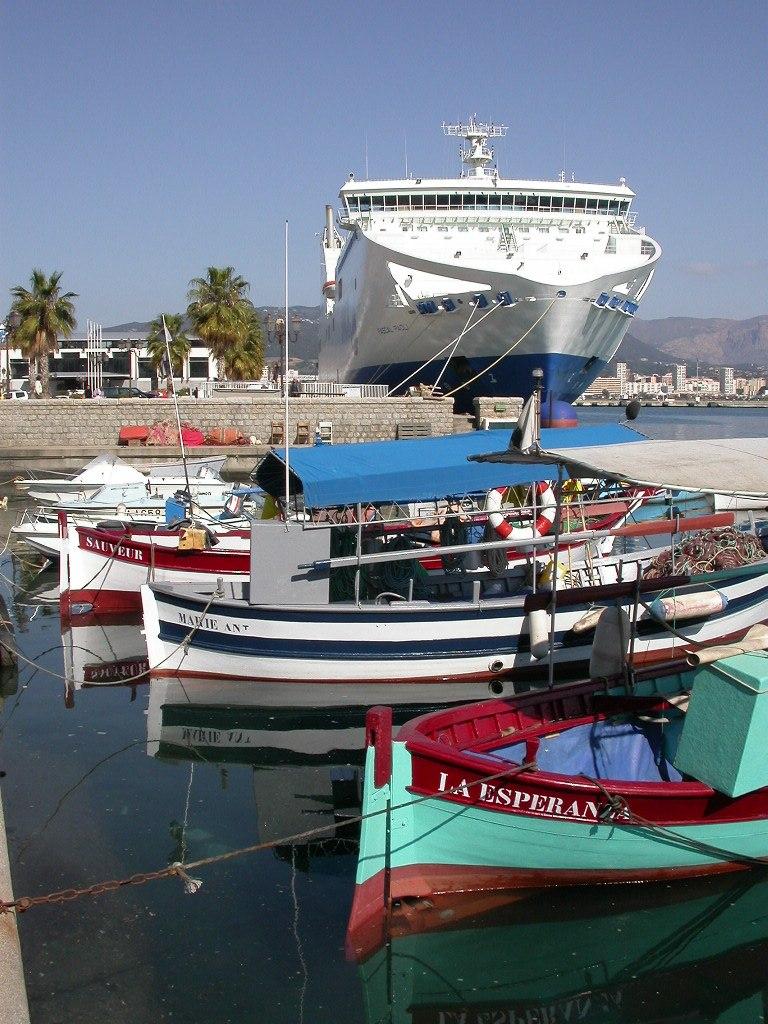 Port Ajaccio ferries