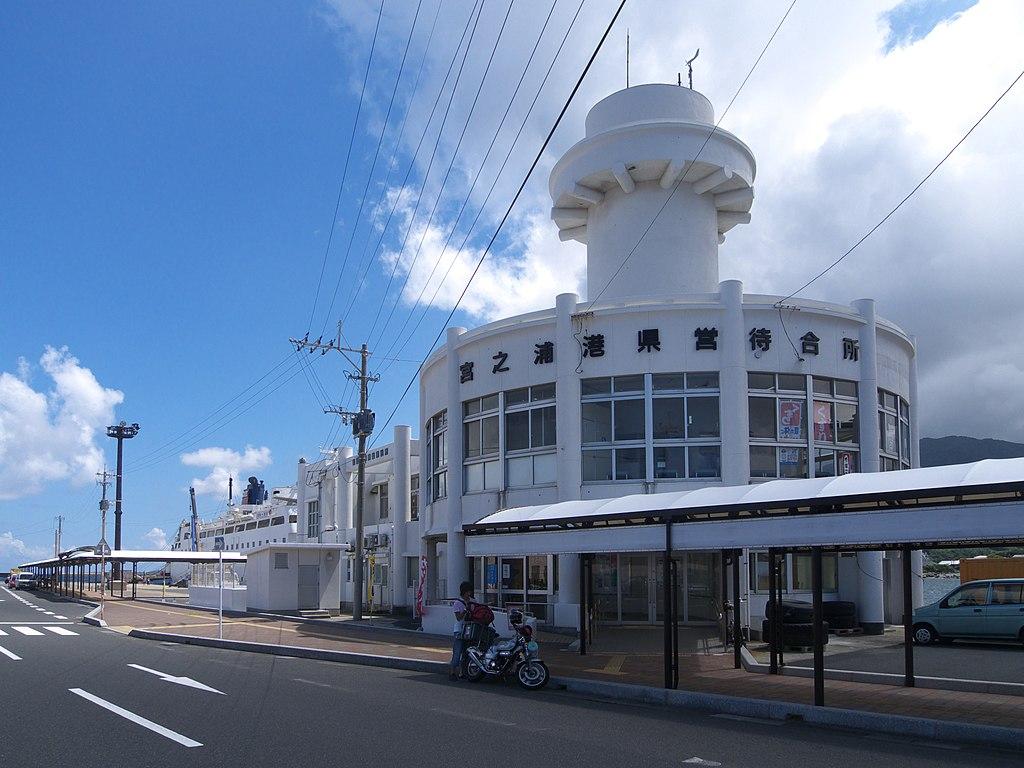 Port of Miyanoura, Yakushima