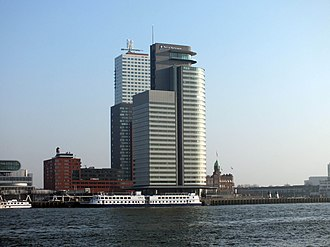 Port of Rotterdam - The main office of the Port of Rotterdam