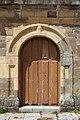 Porta da Colexiata de Santa María de Arbás del Puerto Villamanín León-05.jpg