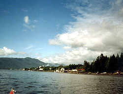 Port Edward, BC from Porpoise Harbour