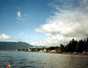 Port Edward, British Columbia - Port Edward, BC from Porpoise Harbour
