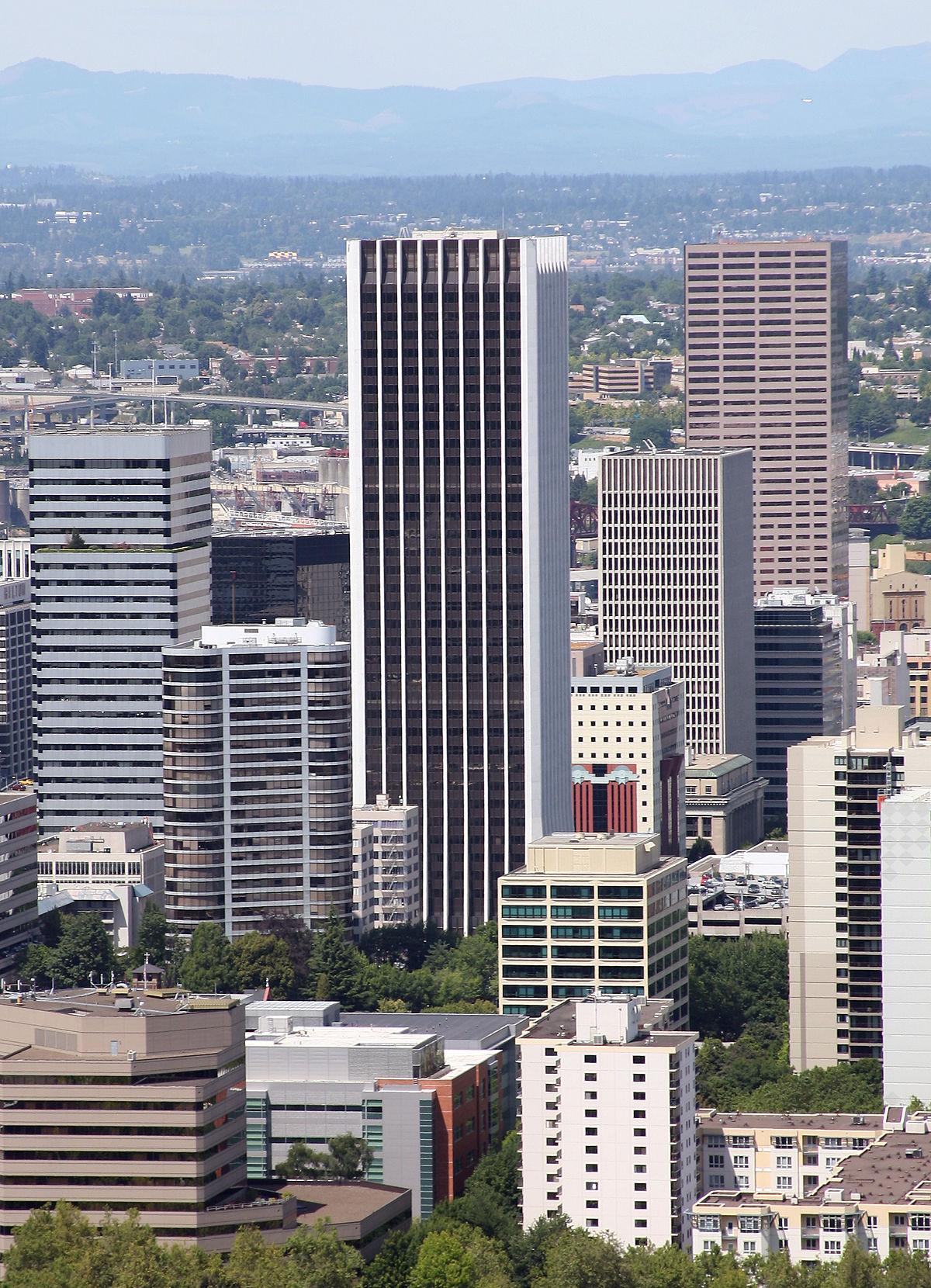 Wells Fargo Center (Portland, Oregon) - Wikipedia