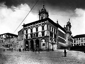 São Bento railway station - The Convent of São Bento da Avé Maria that was demolished, and later served as the site for the railway station
