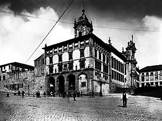 São Bento railway station - The Convent of São Bento da Avé Maria that was demolished, and later served as the site for the railway station