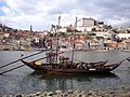 Porto - Portugal - Barcas transportistas de vino - panoramio.jpg