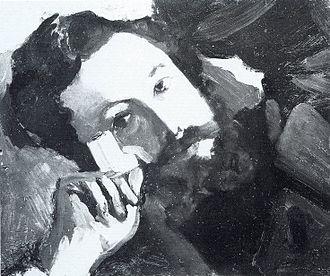 Daniel Wildenstein - Portrait of Alfred Sisley, 1867-68, by Frédéric Bazille, Wildenstein Galleries, Paris, destroyed during World War II.