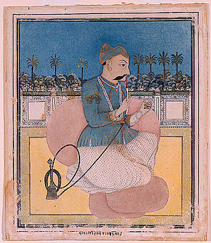 Damaji Rao Gaekwad - Posthumous portrait of Damaji Rao Gaekwad