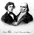 Portrait of Eduard and Ernst Weber Wellcome M0011226.jpg