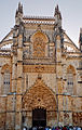 Portugalia Batalha fasada kosciola gotyk plomienisty 02 (02).jpg