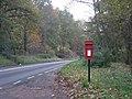 Post box beside the A442 - geograph.org.uk - 1036257.jpg