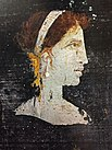 Posthumous painted portrait of Cleopatra VII of Egypt, from Herculaneum, Italy.jpg