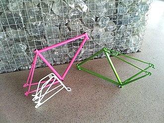 Powder coating - Powder coated bicycle frames and parts