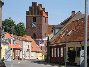Præstø - Præstø Church - seen from west